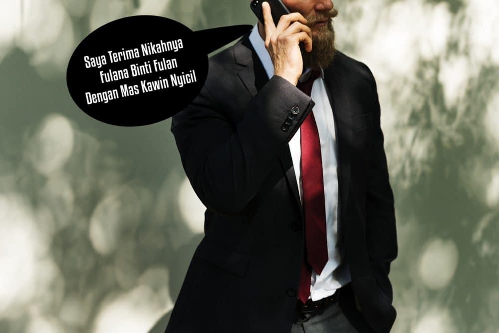 Hukum menikah lewat telepon